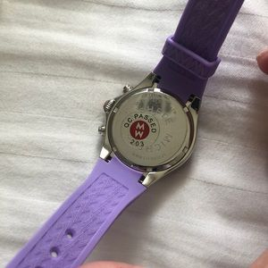 Michele Accessories - Purple Jelly Michele Watch